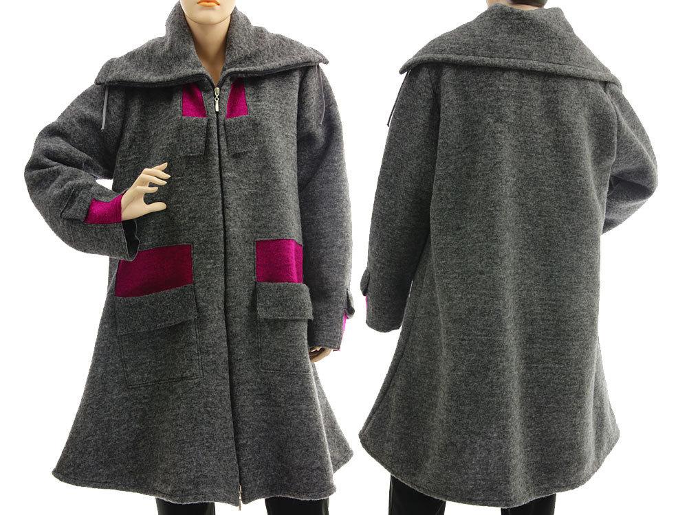 Mantel grau 48